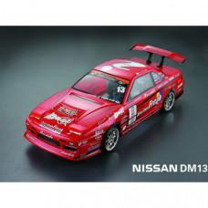 Кузов не окрашенный Nissan DM13 Silvia S13 One Via с отражателями, спойлерами и комплектом стайлинга