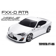 FXX-D 1/10 Scale 2WD RTR Electric Drift Car (2.4G) (brushless)
