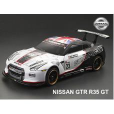 Кузов 2014 Nissan GTR (R35) Sumo Power не окрашенный с отражателями, наклейками и спойлером