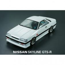 Кузов не окрашенный Nissan Skyline GTS R31 coupe 2000 с отражателями, масками и наклейками