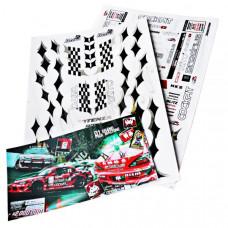 Набор наклеек для моделей D1 Grand Prix Pre-cutted