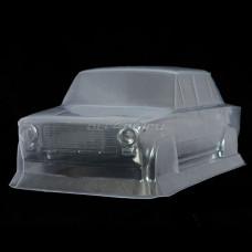 Кузов не окрашенный Ваз 2101 для моделей 1:10 с отражателями и набором декалей, штучное производство