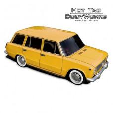 Кузов не окрашенный Ваз 2102 для моделей 1:10 с отражателями и набором декалей, штучное производство