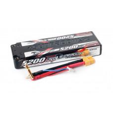 Аккумулятор Sunpadow Li-Po 2S1P 5200mAh 45C/90C XT60 SLIM Hardcase