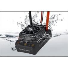 Бесколлекторный бессенсорный влагозащищенный регулятор Ezrun WP MAX5 V3 для шот-корс, багги, монстров масштаба 1:5