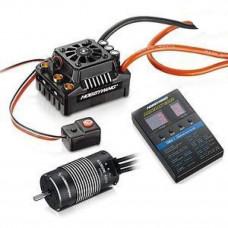 Бесколлекторая бессенсорная влагозащищенная система HobbyWing EZRUN MAX8 XT90 4268SL 2600Kv
