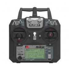 Комплект пульт и ресивер цифровые FlySky i6X с приёмником iA10B