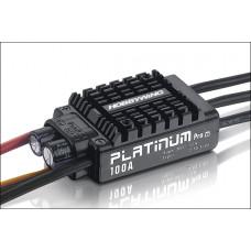 Бесколлекторный регулятор Platinum 100A-V3 для авиа моделей