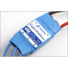 Бесколлекторный регулятор Platinum 40A-PRO для авиа моделей
