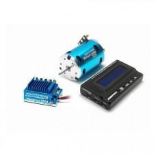 Сенсорная бесколлекторная система Xerun 120A, 10.5T для on-road моделей масштаба 1:10