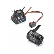 Бессенсорная бесколлекторная система Ezrun COMBO MAX10 3652SL 3300KV для масштаба 1:10