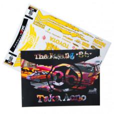 Набор наклеек для моделей TAKA AONO The Flying 86 (1 лист)