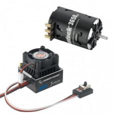 Бесколлекторная сенсорная система Xerun COMBO XR10 JS5 Black G2 для моделей масштаба 1:10