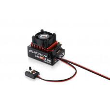 Бесколлекторный сенсорный регулятор QuicRun-10BL120 для автомоделей масштаба 1:10 красный
