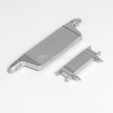 Набор пластиковый интеркулер, маслокулер для моделей 1/10