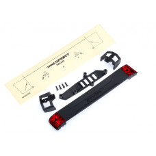 Tailgate panel: tailgate retainers (2): tailgate mount: tail light lens (2) (left & right): 2.5x