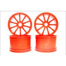 Ten-Spoke Wheel (Orange/ST-R/4pcs)
