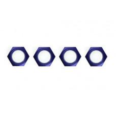 Wheel nut with nylon(Blue/4pcs)