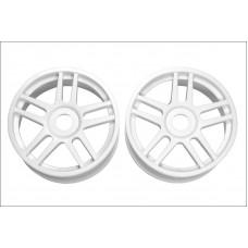Wheel(10-Spoke/White/2Pcs)