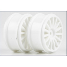 Wheel (15-Spoke/White/2pcs/DRX/GT46)