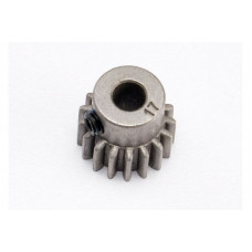 Gear, 17-T pinion (0.8 metric pitch, compatible with 32-pitch) (fits 5mm shaft): set screw