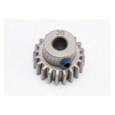 Gear, 20-T pinion (0.8 metric pitch, compatible with 32-pitch) (fits 5mm shaft): set screw