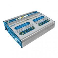 Зарядное устройство универсальное - CD1+(1XR) (LiXX, NiXX, Pb, 220/12V, 100Wx2, C:10A, D:5A)