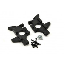 T/E-Maxx Rear Bulkheads - Black