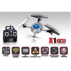 X1 4CH quadcopter with GYRO