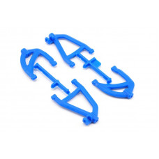 RPM Rear A-Arms Blue 1/16 Scale