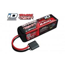 6400mAh 11.1v 3-Cell 25C LiPO Battery (iD Plug)