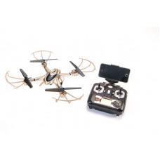 X401H-B quadcopter (золотой, с FPV камерой)