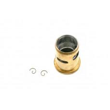 Piston/sleeve (matched set), wrist pin clips(2) (TRX 2.5, 2.5R)