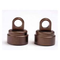 Shock caps, aluminum (2)/ (Big Bore Shocks)