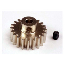 Gear, 21-T pinion (32-p) (mach. steel): set screw