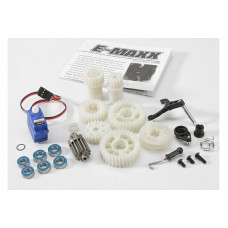 Two Speed Conversion Kit (E-Maxx) (includes wide and close ratio first gear sets, sub-micro servo, a
