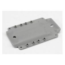 Skidplate, transmission, nylon (grey) (for long wheelbase chassis)