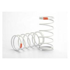 Spring, shock (white) (GTR) (front) (0.9 rate orange) (1 pair)