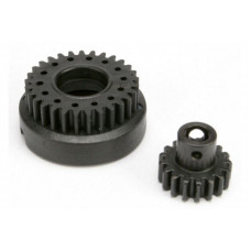 Gear set, two-speed (2nd speed gear, 29T: input gear, 17T steel)