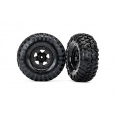 Tires and wheels, assembled, glued (TRX-4® Sport wheels, Canyon Trail 2.2 tires)