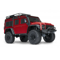 TRX-4 1:10 Land Rover 4WD Scale and Trail Crawler Red