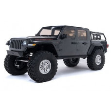Axial 1/10 SCX10 III Jeep JT Gladiator Rock Crawler with Portals RTR (серый)