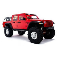 Axial 1/10 SCX10 III Jeep JT Gladiator Rock Crawler with Portals RTR (крас