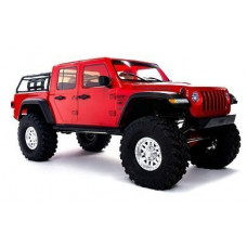 Axial 1/10 SCX10 III Jeep JT Gladiator Rock Crawler with Portals RTR (красный)