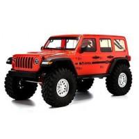 Axial 1/10 SCX10 III Jeep JLU Wrangler with Portals RTR (красный)