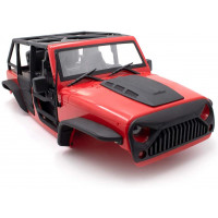 Jeep Wrangler Rubicon 5D  с каркасом For 1/10 KYX