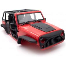Jeep Wrangler Rubicon 5D  с каркасом For 1/10 KYX