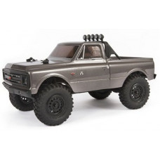 Axial 1/24 SCX24 1967 Chevrolet C10 4WD Brushed RTR (серый)