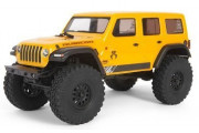Axial 1/24 SCX24 2019 Jeep Wrangler JLU CRC 4WD Brushed RTR (Жёлтый)