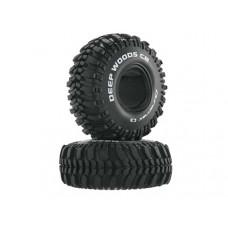"Duratrax 1:10 Deep Woods CR 1.9"" Crawler Tire C3 (2)"